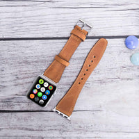 Full Grain Leather Band for Apple Watch 38mm / 40mm - TAN - saracleather