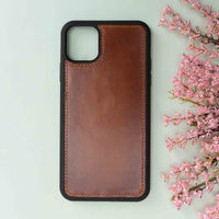 "Magic Magnetic Detachable Leather Wallet Case for iPhone 11 Pro (5.8"") - EFFECT BROWN - saracleather"