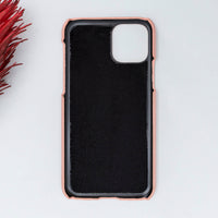 "Ultimate Jacket Leather Phone Case for iPhone 11 Pro Max (6.5"") - PINK - saracleather"