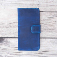 Liluri Magnetic Detachable Leather Wallet Case for Samsung Galaxy S10 Plus - BLUE - saracleather