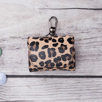 Mai Magnet Leather Case for AirPods Pro - LEOPARD PATTERNED - saracleather