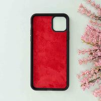 "Magic Magnetic Detachable Leather Wallet Case for iPhone 11 Pro (5.8"") - RED - saracleather"