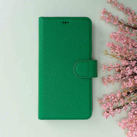 "Magic Magnetic Detachable Leather Wallet Case for iPhone 11 Pro (5.8"") - GREEN - saracleather"