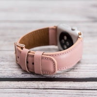 Full Grain Leather Band for Apple Watch 38mm / 40mm - PINK - saracleather