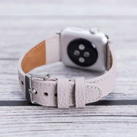 Full Grain Leather Band for Apple Watch 38mm / 40mm - GRAY - saracleather