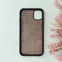 "Magic Magnetic Detachable Leather Wallet Case for iPhone 11 Pro Max (6.5"") - GRAY - saracleather"