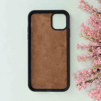 "Magic Magnetic Detachable Leather Wallet Case for iPhone 11 Pro Max (6.5"") - BROWN - saracleather"