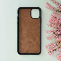 "Magic Magnetic Detachable Leather Wallet Case for iPhone 11 Pro Max (6.5"") - EFFECT BROWN - saracleather"