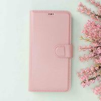 "Magic Magnetic Detachable Leather Wallet Case for iPhone 11 Pro Max (6.5"") - PINK - saracleather"