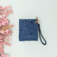 Mai Leather Case for AirPods 1 & 2 - BLUE - saracleather