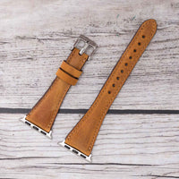 Slim Strap - Full Grain Leather Band for Apple Watch 38mm / 40mm - TAN