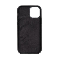 "Magic Magnetic Detachable Leather Wallet Case for iPhone 12 Pro (6.1"") - BLACK - saracleather"
