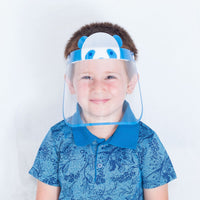 50 Pieces - Magic Visors Face Shield for Kids Blue - saracleather