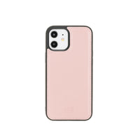 "Flex Cover Leather Back Case for iPhone 12 (6.1"") - PINK - saracleather"