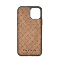 "Magic Magnetic Detachable Leather Wallet Case with RFID for iPhone 12 (6.1"") - EFFECT BROWN - saracleather"