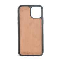 "Santa Magnetic Detachable Leather Wallet Case for iPhone 12 Pro (6.1"") - BROWN - saracleather"