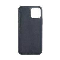 "Santa Magnetic Detachable Leather Wallet Case for iPhone 12 Pro Max (6.7"") - BLACK - saracleather"