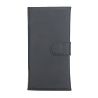 "Santa Magnetic Detachable Leather Wallet Case for iPhone 12 Pro (6.1"") - BLACK - saracleather"