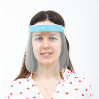 3 Pieces - Magic Visors 03 | Face Shield - saracleather