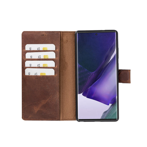 Magic Magnetic Detachable Leather Wallet Case for Samsung Galaxy Note 20 / Note 20 5G (6.7