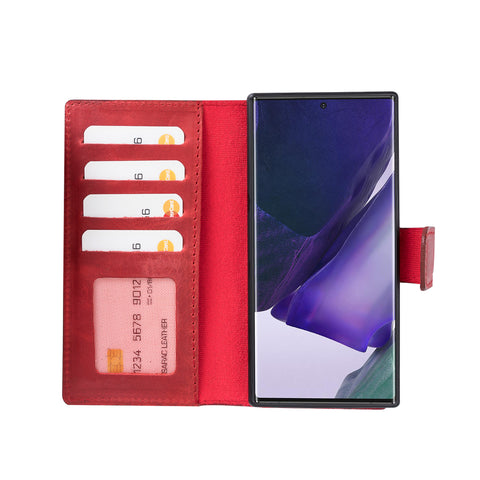 Liluri Magnetic Detachable Leather Wallet Case for Samsung Galaxy Note 20 Ultra / Note 20 Ultra 5G (6.9