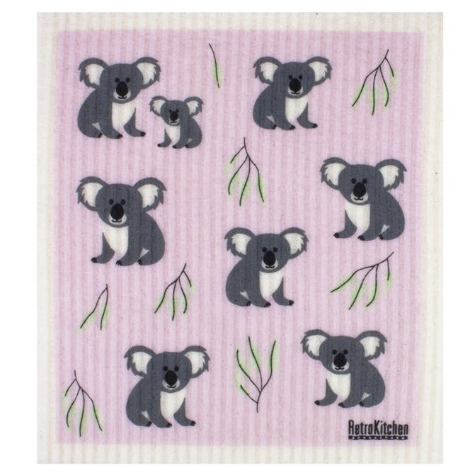 Biodegradable Sponge Cleaning Cloth - Koala