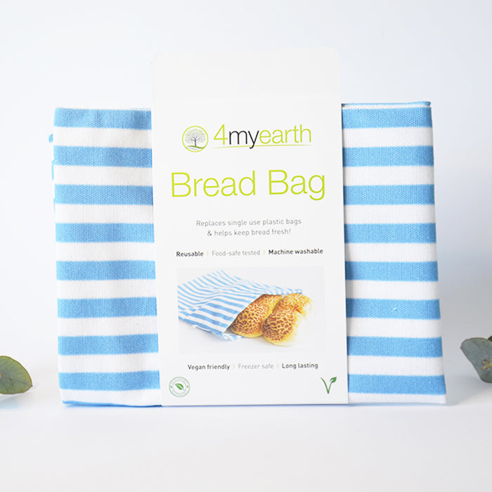 Reusable Fabric Bread Bag Machine Washable