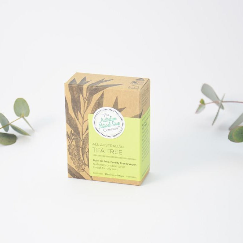 Australian Handmade All Natural Vegan Tea Tree Soap