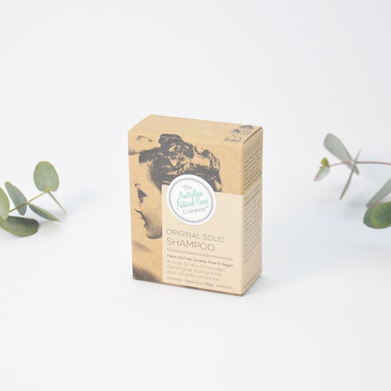 Australian Native Soap Company Solid Shampoo Vegan