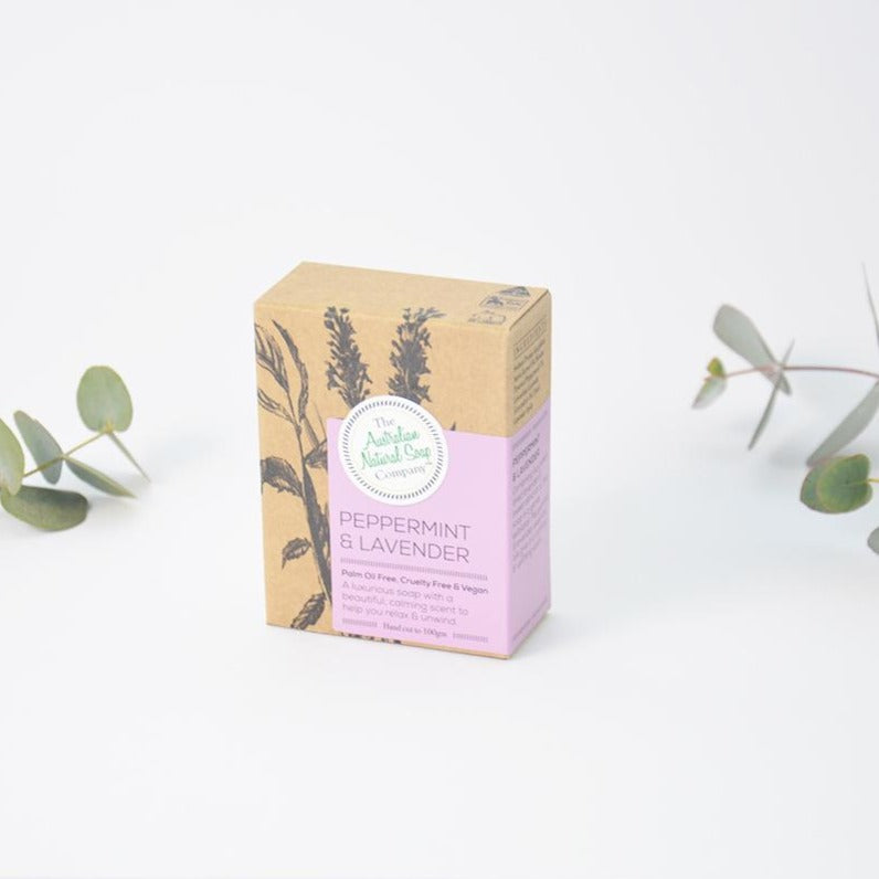 Australian Native Soap Company Peppermint & Lavender Soap