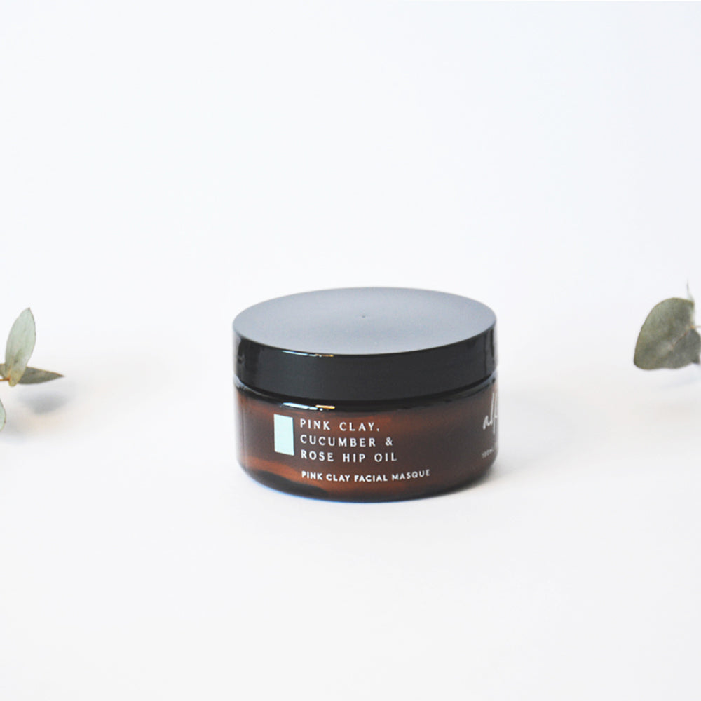 Detoxifying Australian Pink Clay Facial Mask Vegan