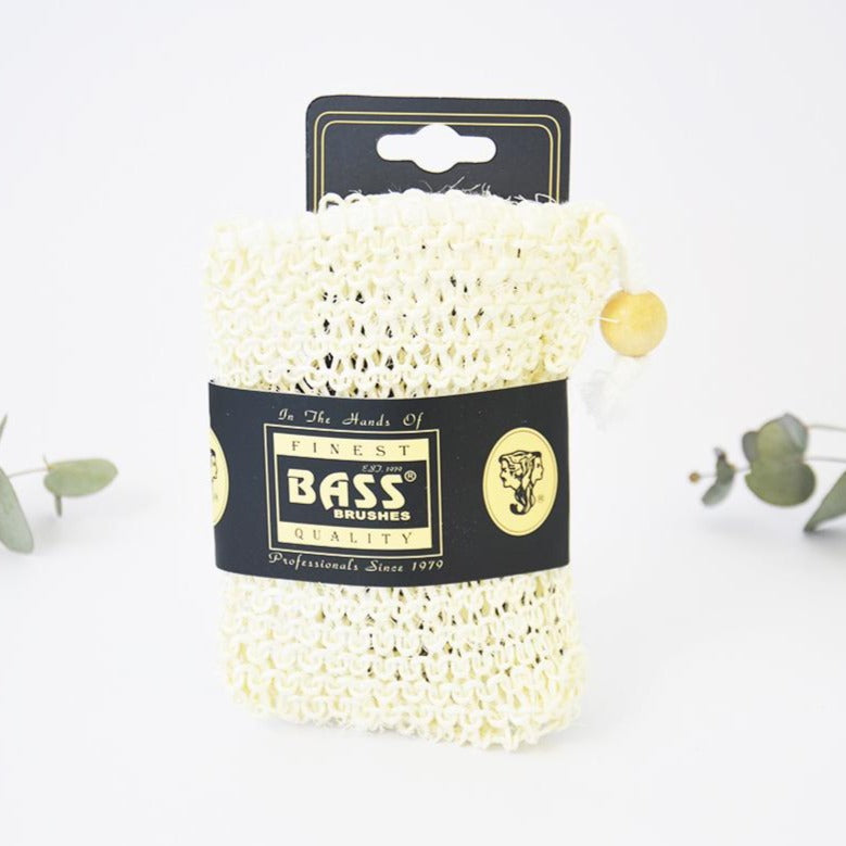 Bass Body Care Sisal Soap Pouch
