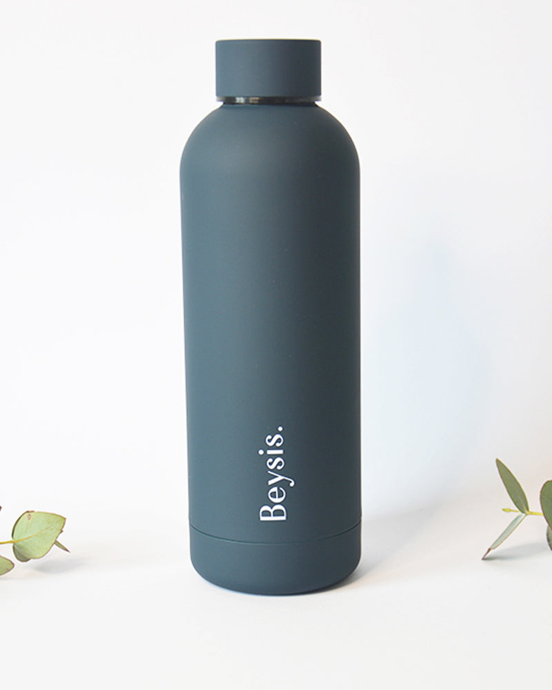 Insulated stainless steel water bottle Navy
