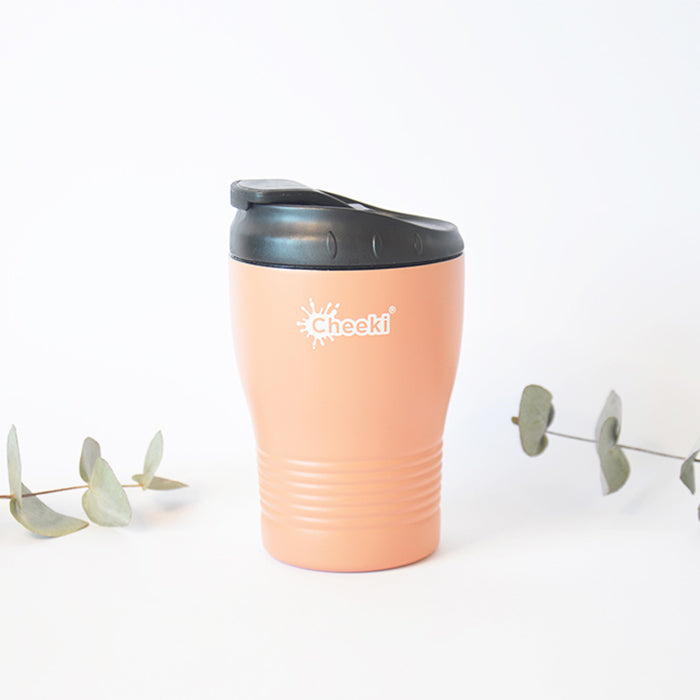 240ml Insulated Reusable Espresso Coffee Cup - Coral