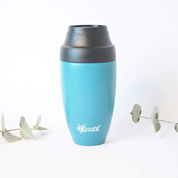 350ml Leak Proof Insulated Coffee Mug - Topaz