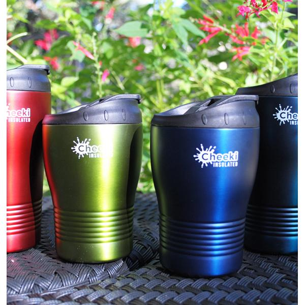240ml Insulated Reusable Espresso Coffee Cup - Ocean