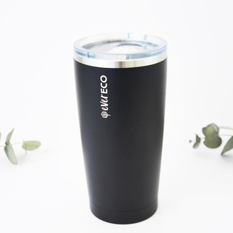Insulated Stainless Steel Smoothie Tumbler Black