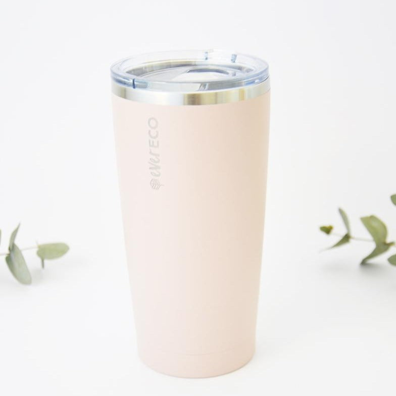 Pink Durable Insulated Smoothie Tumbler 592ml
