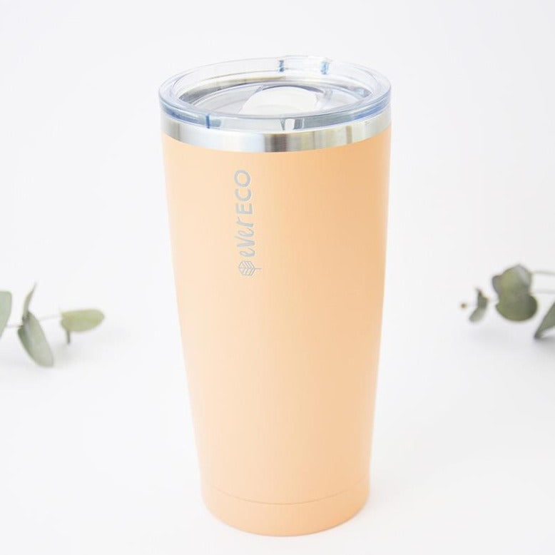 Reusable Tumbler Insulated Stainless Steel 592ml Coral