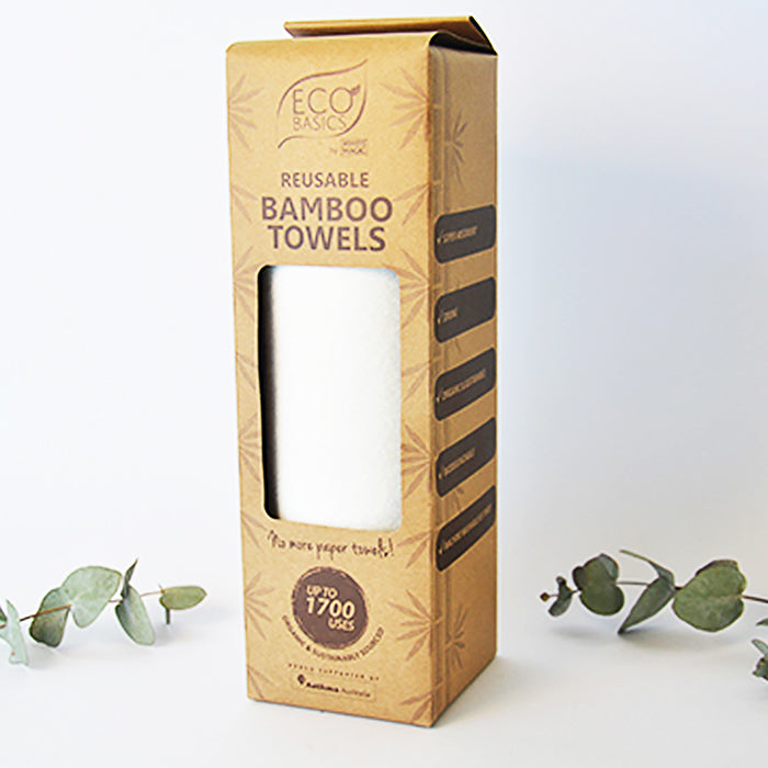 Reusable Bamboo Towels Machine Washable Kitchen Towels