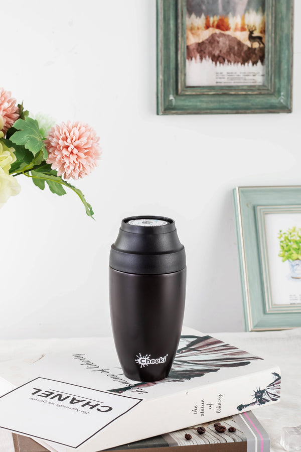 350ml Leak Proof Insulated Coffee Mug - Chocolate