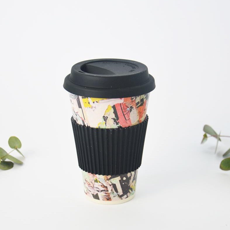 Bamboo Travel Coffee Mug 430ml