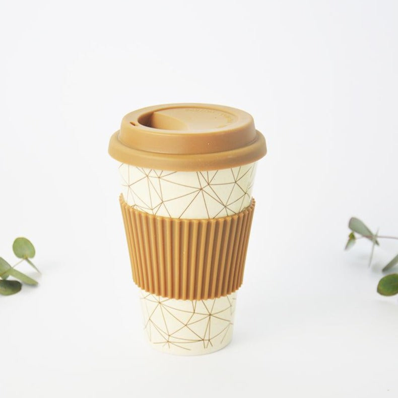 Bamboo Travel Cup Reusable Coffee Mug