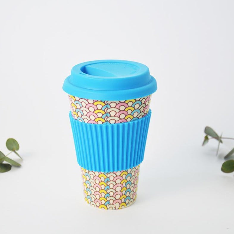 LuvinLife Bamboo Travel coffee Mug