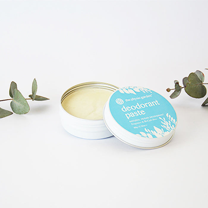 Certified Vegan  & Cruelty Free Deodorant Paste Plastic Free All Natural
