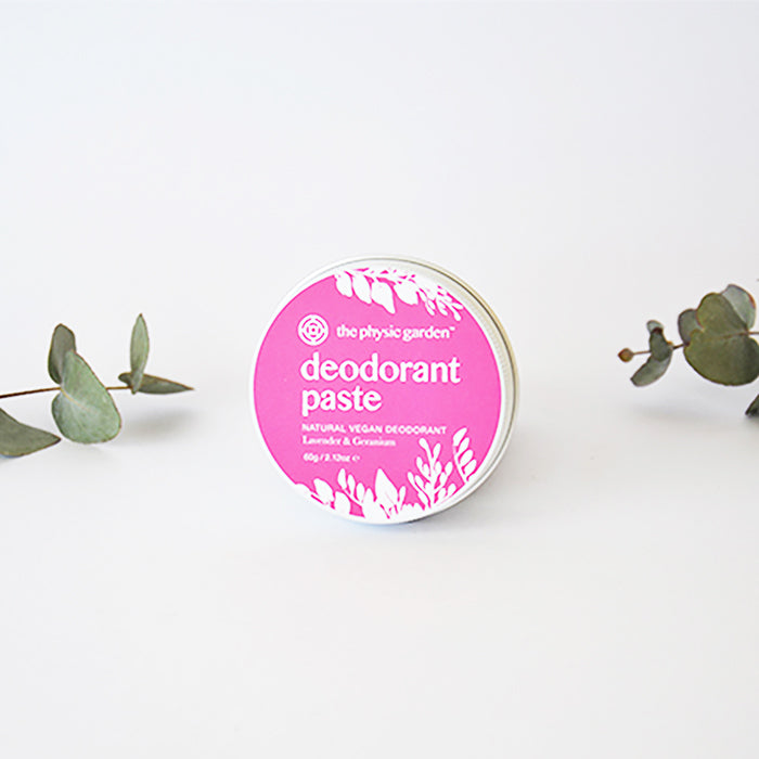 Handmade in Australian Natural Vegan Deodorant Paste