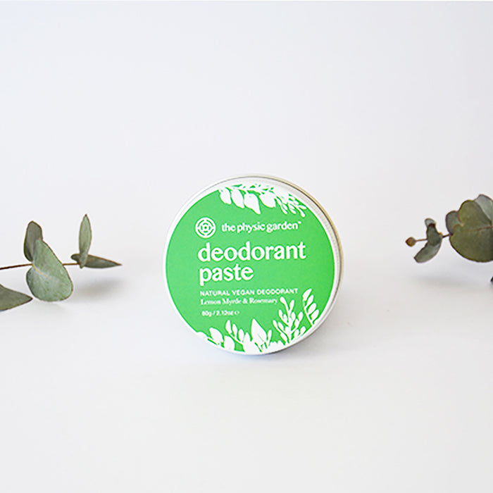100% Natural Vegan Cruelty Free Deodorant Paste Australian Made Plastic Free
