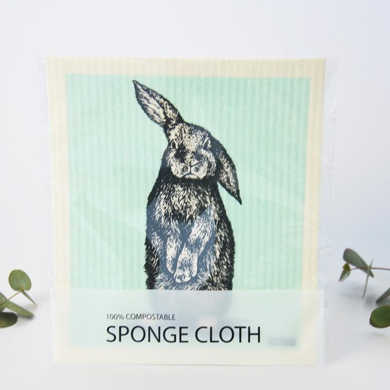 Compostable Kitchen Sponge Cloth Rabbit