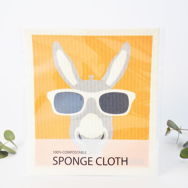 Retro Kitchen Dish Cloth Kangaroo