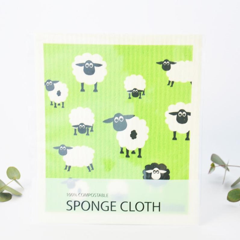 Sponge Cleaning Cloth Compostable Sheep